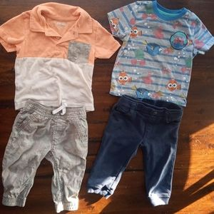 18 month outfit finding dory tshirt